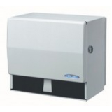 Dispenser For Hand Towels,For 205'-600' Rolls, Metal 1 UNIT/ EACH.