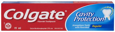 Colgate Cavity Protection Regular Toothpaste 95 mL.
