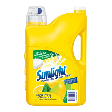 SUNLIGHT DISH WASHING LIQUID LEMON FRESH 5L