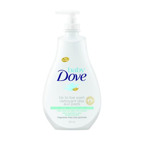Dove Baby Tip to Toe Wash Sensitive Moisture Cleansing Liquid 591mL