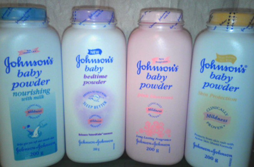 JOHNSONS BABY POWDER 100G