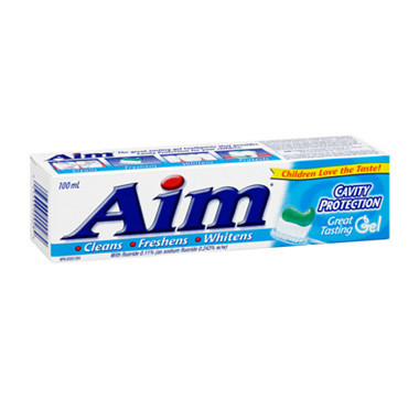 AIM TOOTHPASTE 100ML   12 in a case.
